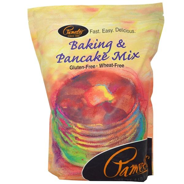 Pamela's Products, Смесь для блинов и выпечки, 4 фунта (1.81 кг) (Discontinued Item)