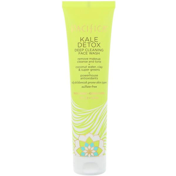 Kale Detox Deep Cleansing Face Wash, 5 fl oz (147 ml)