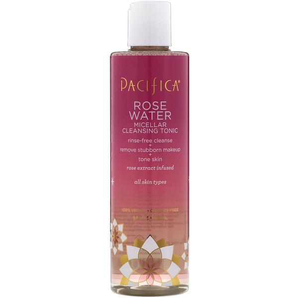 Rose Water, Micellar Cleansing Tonic, 8 fl oz (236 ml)