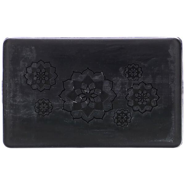 Капуста и древесный уголь, пенящееся кусковое мыло для очищения кожи лица от токсинов, 90г (3,25унции)