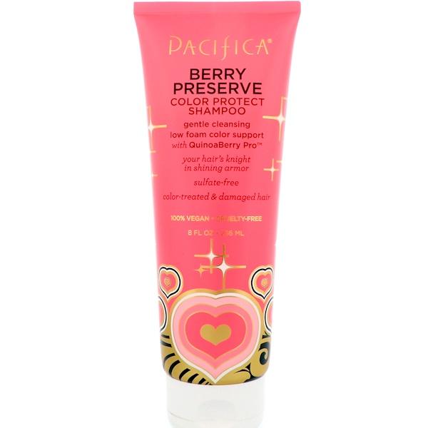 Pacifica, Berry Preserve Color Correct Shampoo, 8 fl oz (236 ml) (Discontinued Item)