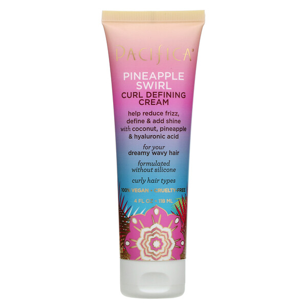 Pineapple Swirl, Curl Defining Cream, 4 fl oz (118 ml)