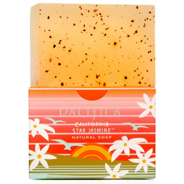 Pacifica, Natural Soap, California Star Jasmine, 6 oz (Discontinued Item)