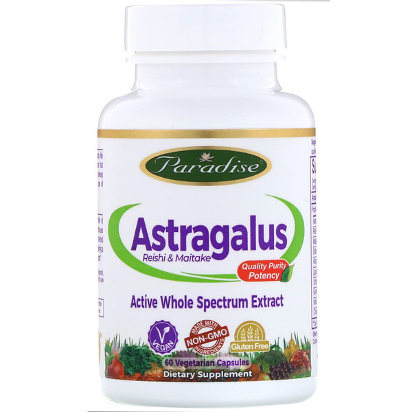 Astragalus, Reishi Maitake Plus, 60 Vegetarian Capsules