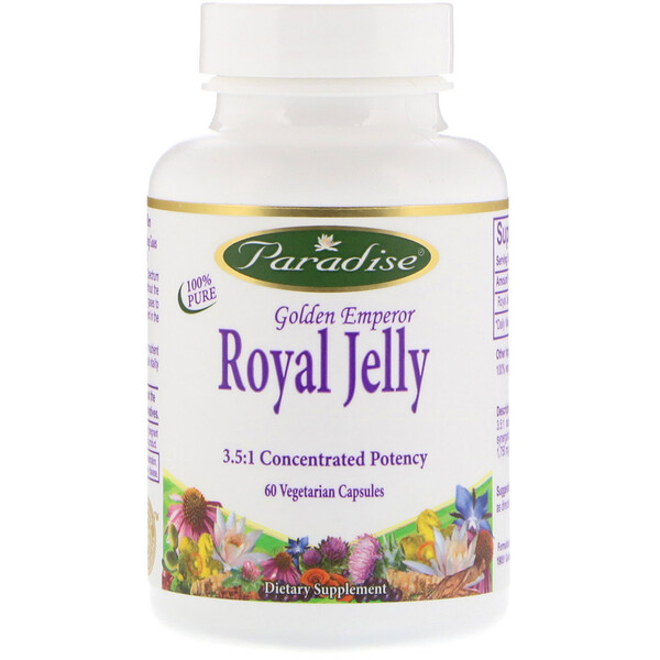 Golden Emperor Royal Jelly, 60 Vegetarian Capsules