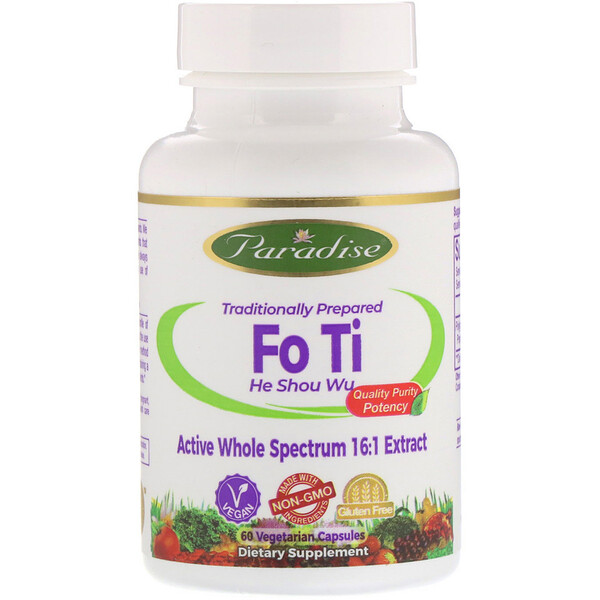 Fo Ti, 60 растительных капсул