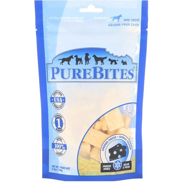 Freeze Dried, Dog Treats, Cheddar Cheese , 4.2 oz (120 g)