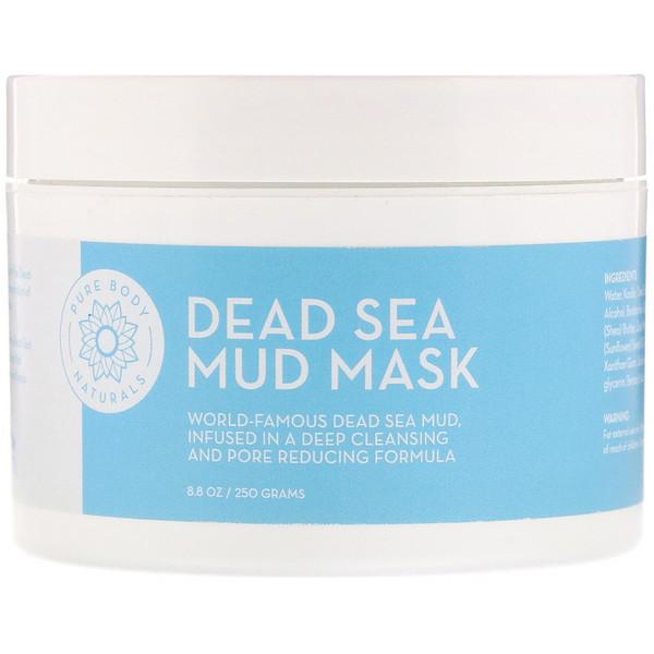 Pure Body Naturals, Маска из грязи Мертвого моря, 8,8 унц. (250 г) (Discontinued Item)