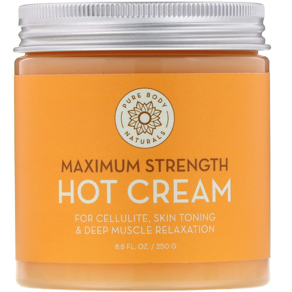 Maximum Strength Hot Cream, 8.8 fl oz (250 g)