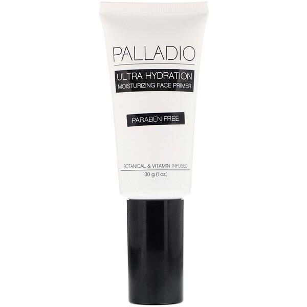 Palladio, Ultra Hydration, увлажняющий праймер для лица, 30г