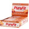 PureFit Bars, Premium Nutrition Bars, Хрустящие Батончики с Арахисовым Маслом, 15 штук по 2 унции (57 г) каждая