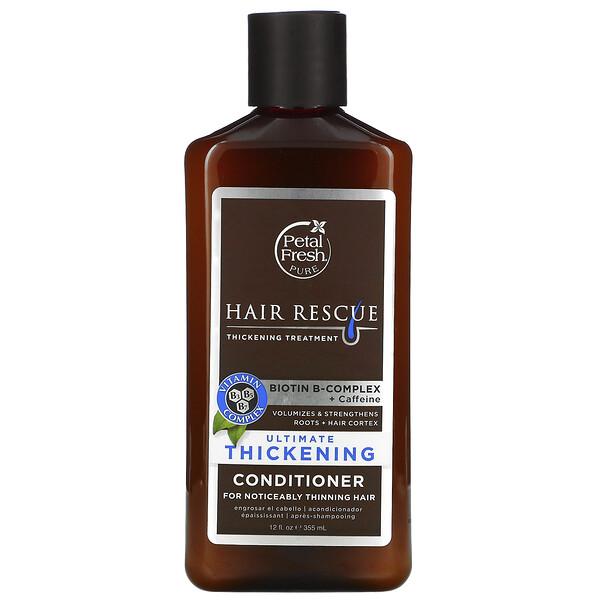 Pure, Hair ResQ, лучший утолщающий кондиционер для нормальных Волос, 12 ж. унц. (355 мл)