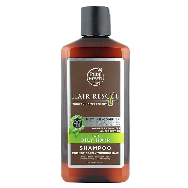 Pure, Спасение Волос , Шампунь для Утолщения Волос, 12 жидких унций (355 мл)