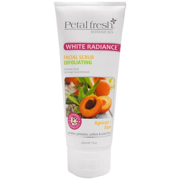 Petal Fresh, Отшелушивающий скраб для сияния кожи, абрикос и алое, 7 ж. унций (200 мл) (Discontinued Item)