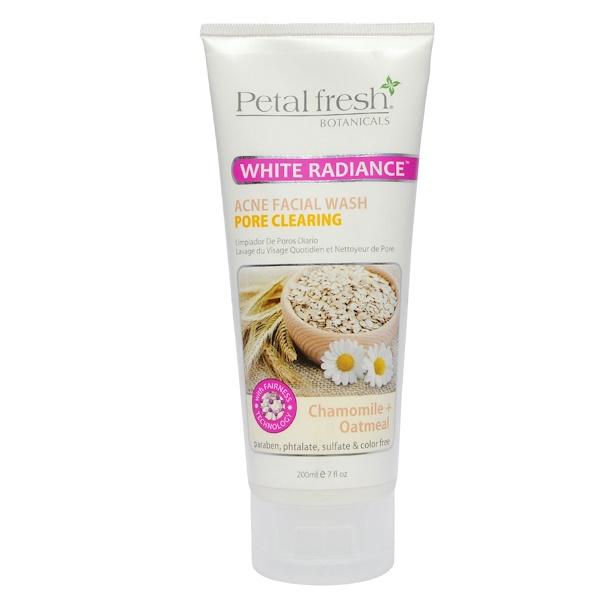 Petal Fresh, Botanicals, Acne Facial Wash, Pore Clearing, Chamomile + Oatmeal, 7 fl oz (200 ml) (Discontinued Item)