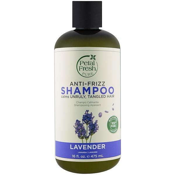 Pure, Shampoo, Anti-Frizz Lavender, 16 fl oz (475 ml)