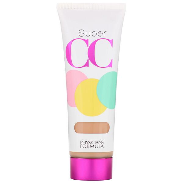 Super CC+, коррекция цвета + уход, крем СС+, SPF 30, светлый/средний оттенок, 1,2 жидкой унции (35 мл)