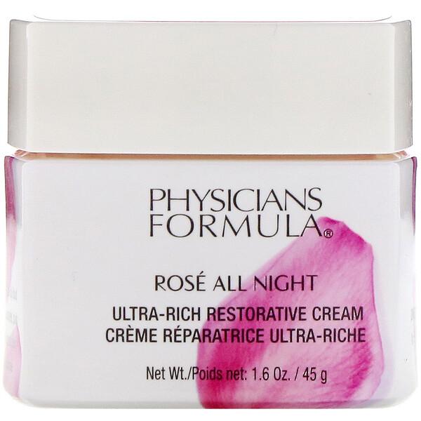 Ros� All Night, Ultra-Rich Restorative Cream, 1.6 oz (45 g)