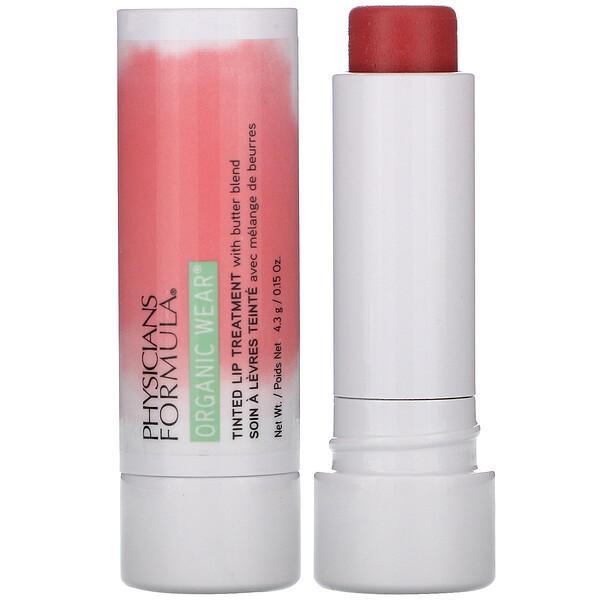 Organic Wear, Tinted Lip Treatment, Tickled Pink, 0.15 oz (4.3 g)