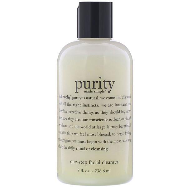 Philosophy, Средство для одноэтапного очищения кожи лица Purity Made Simple, 236,6мл (8жидк.унций)