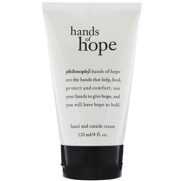 Philosophy, Крем для рук и кутикул Hands of Hope, 120 мл (Discontinued Item)