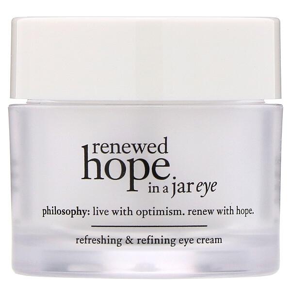 Очищающий и восстанавливающий крем для кожи вокруг глаз Renewed Hope in a Jar, 15мл