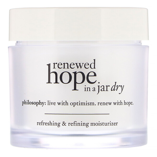 Philosophy, Очищающий и восстанавливающий увлажняющий крем для сухой кожи Renewed Hope in a Jar, 60мл (Discontinued Item)