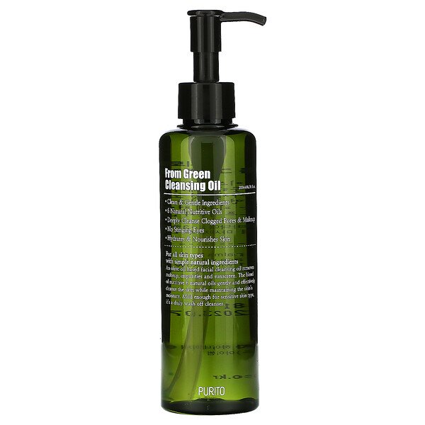 Purito, From Green Cleansing Oil, 6.76 fl oz (200 ml)