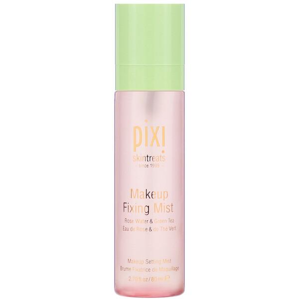 спрей для фиксации макияжа, с розовой водой и зеленым чаем, 80 мл (2,7 жидкой унции)