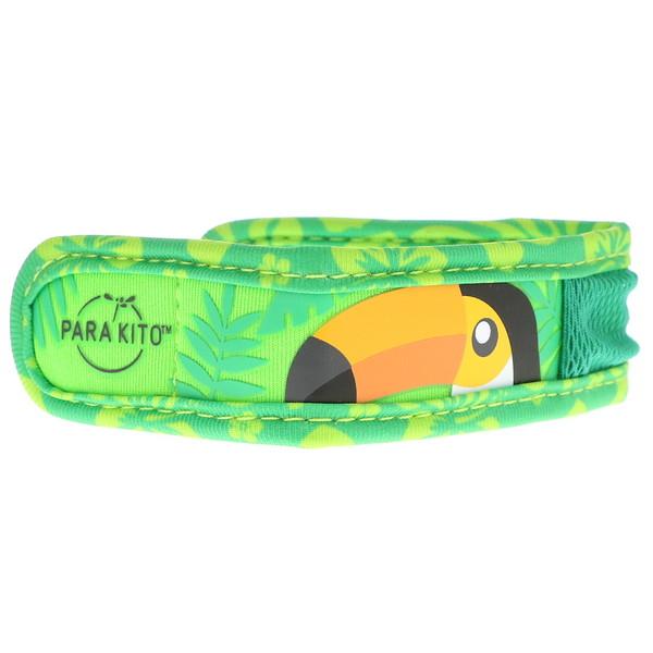 Para'kito, Браслет с репеллентом от комаров + 2 пеллеты, для детей, оранжевый нос, 3 шт. в комплекте (Discontinued Item)
