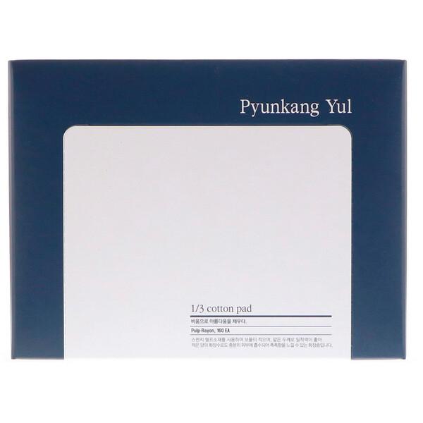 """Pyunkang Yul, Прямоугольные ватные диски """"1/3"""", 160 шт."""