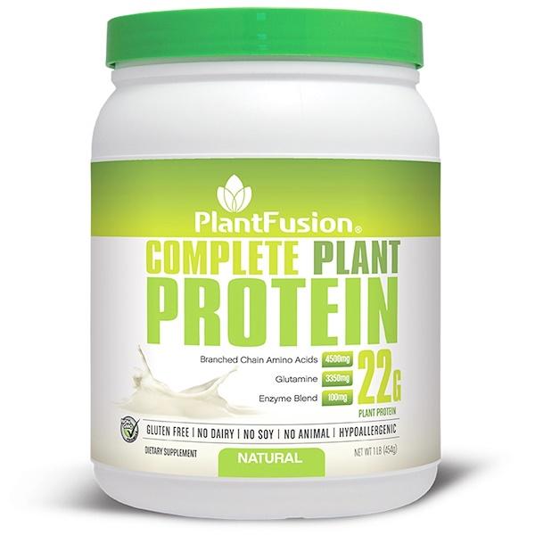 PlantFusion, Комплексный растительный белок, натуральный, 1 фунт (454 г) (Discontinued Item)