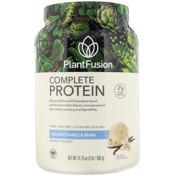 Complete Protein, сливочная ваниль, 900 г (2 фунта)