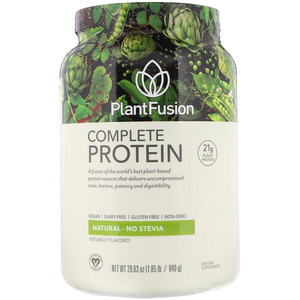 Complete Protein, натуральный вкус, 840г