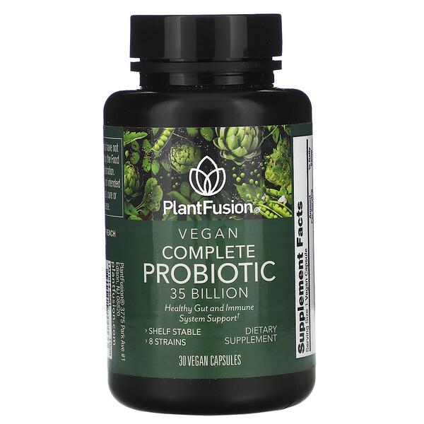 Vegan Complete Probiotic, 35 Billion CFU, 30 Vegan Capsules
