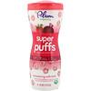 Plum Organics, Super Puffs, снек из органических злаков, клубника со свеклой, 1,5 унции (42 г)