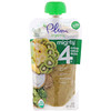 Plum Organics, Tots, Mighty 4, 4 Food Group Blend, Banana, Kiwi, Spinach, Greek Yogurt, Barley, 4 oz (113 g)