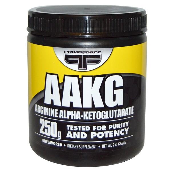 AAKG, аргинина альфа-кетоглутарат, без вкуса, 250 г