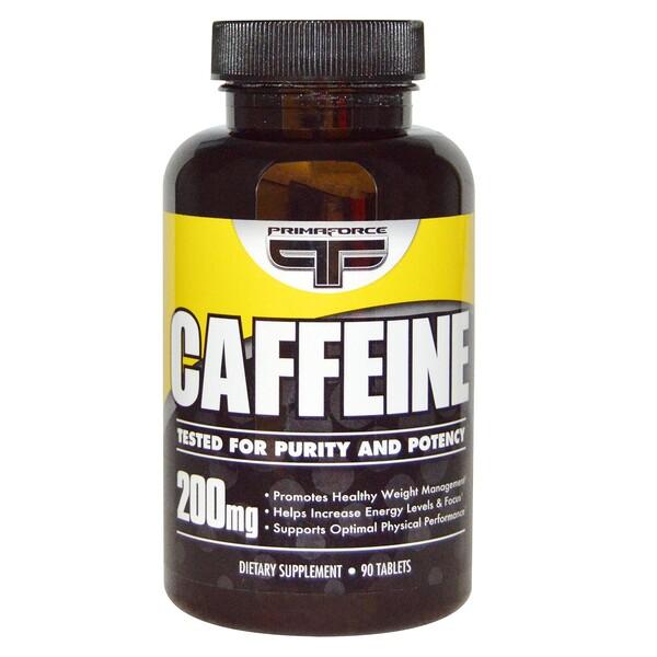 Кофеин, 200 мг, 90 таблеток