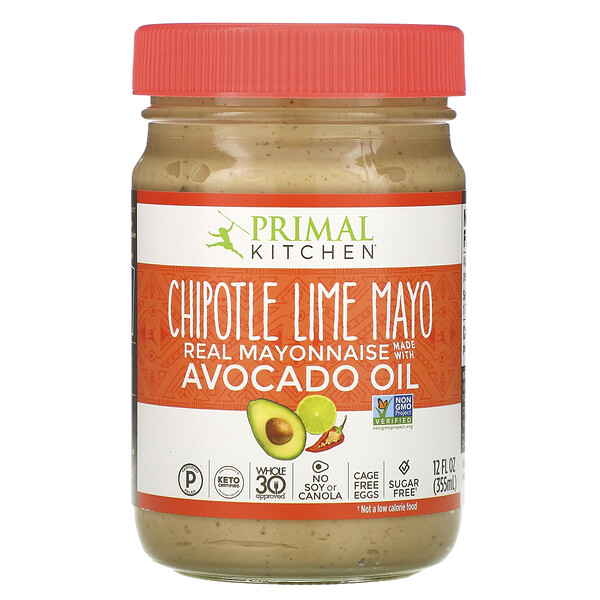 Chipotle Lime Mayonnaise with Avocado Oil, 12 fl oz (355 ml)