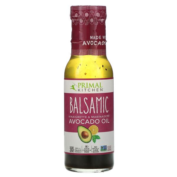Primal Kitchen, Balsamic Vinaigrette & Marinade Made with Avocado Oil, 8 fl oz (237 ml)