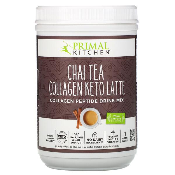 Collagen Keto Latte, Chai Tea, 8.55 oz (242.4 g)