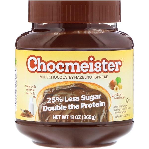 "Peanut Butter & Co., ""Шокмейстер"", паста из фундука со вкусом молочного шоколада, 13 унций (369 г) (Discontinued Item)"