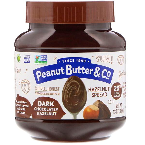 Спред из фундука, темный шоколад и фундук, 369г (13унций)