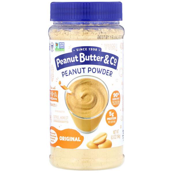 Peanut Powder, Original, 6.5 oz (184 g)