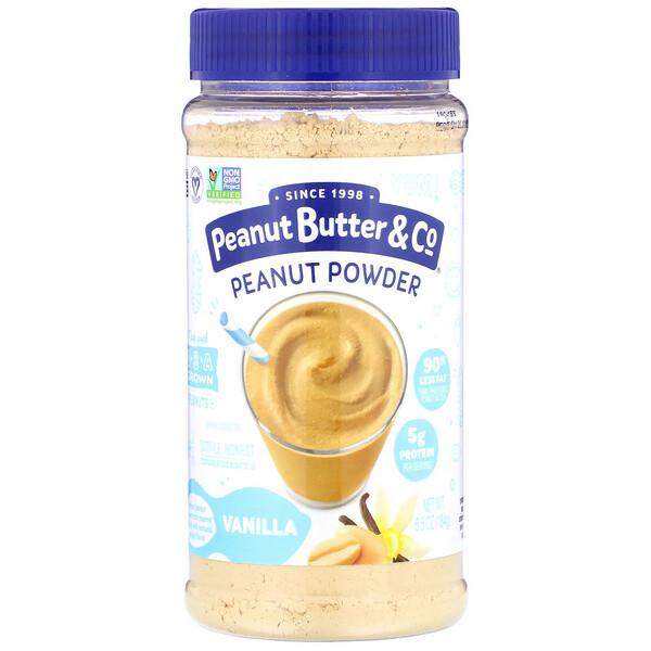 Peanut Powder, Vanilla, 6.5 oz (184 g)