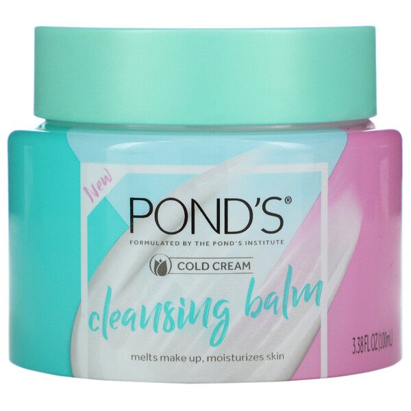 Cold Cream, Cleansing Balm, 3.38 fl oz (100 ml)