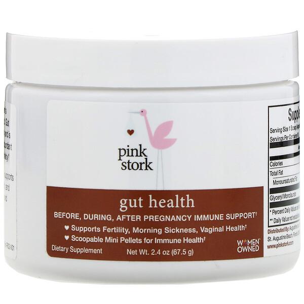 Pink Stork, Gut Health, поддержка иммунной системы во время беременности, 67,5г (2,4унции) (Discontinued Item)