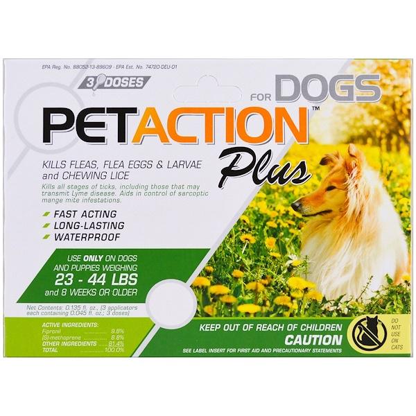Для средних собак, 3 дозы, 0,045 ж. унц.