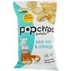 Popchips, Картофельные чипсы с морской солью и уксусом, 5 унц. (142 г)